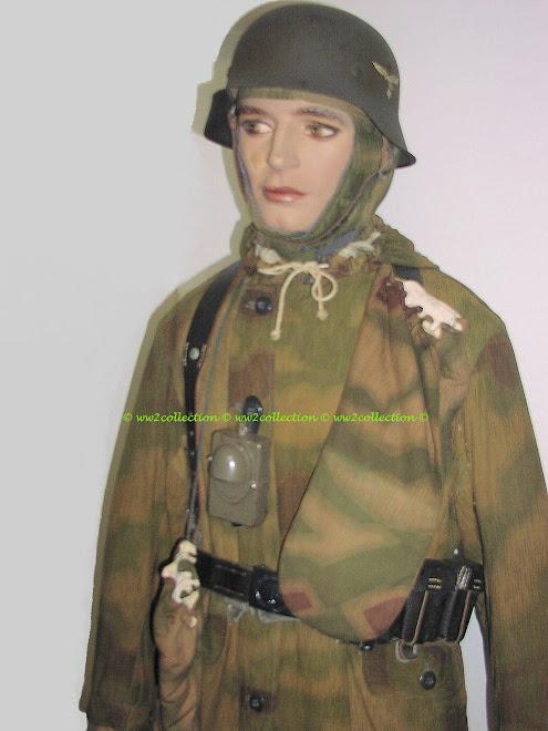 WW2 Winterschlacht im Osten, Winterfeldzug,  German Combat Uniform Luftwaffe soldat sumpfmuster M44