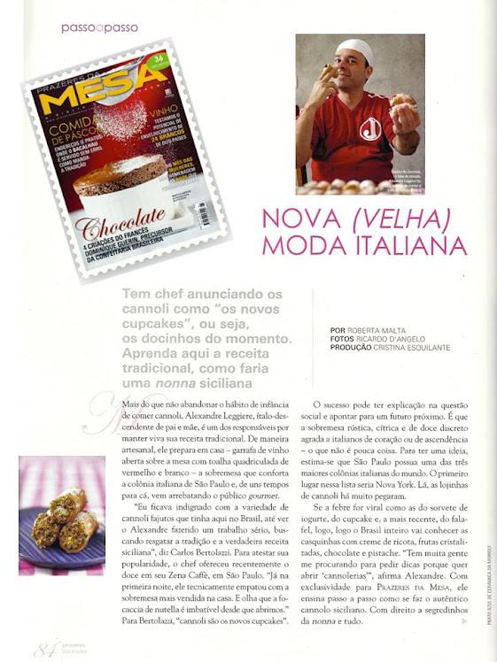 Prazeres da mesa Edição e março 2011