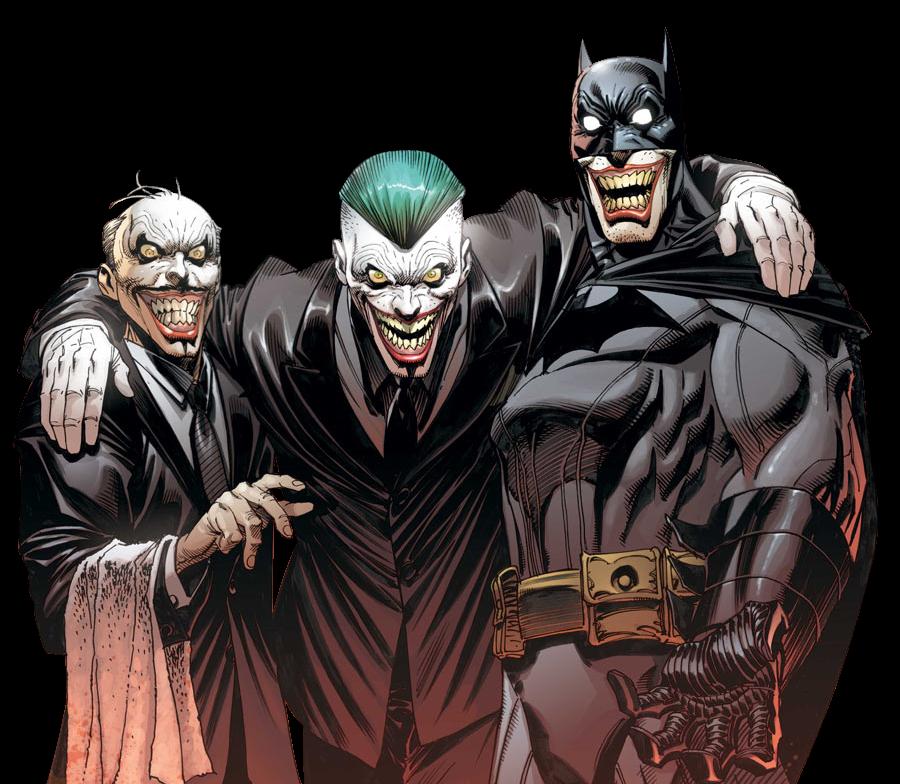 Render Batman e Coringa (HD)