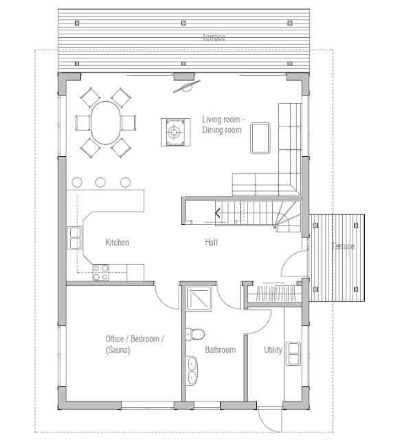 Affordable home plans affordable house plan ch20 for Economic house plans