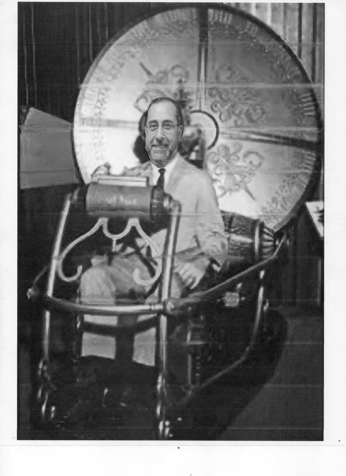 Mucci in his Time Machine