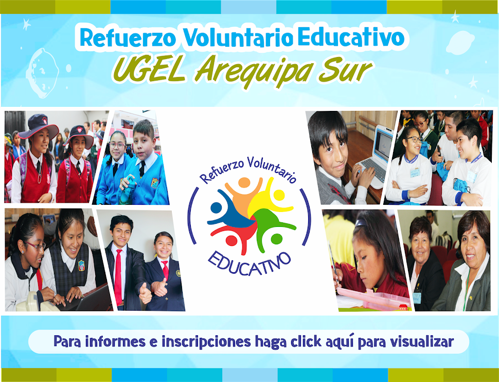 REFUERZO VOLUNTARIO EDUCATIVO 2019