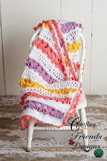 Butterfly Garden Afghan Crochet Pattern