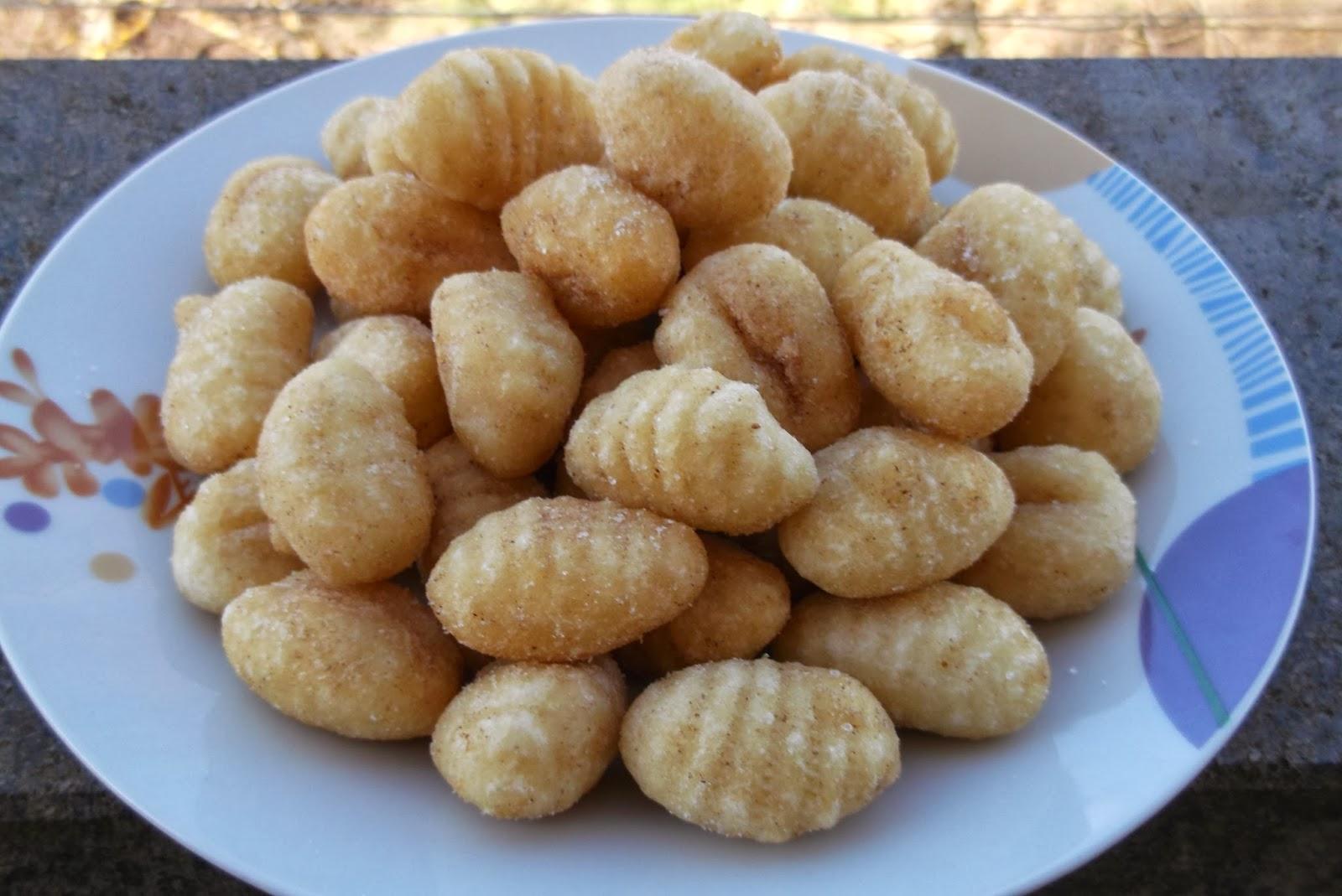 gnocchi salati fritti