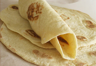 flour tortilla, Homemade Shawarma bread in a pan, Nigerian Shawarma, Nigerian Food TV