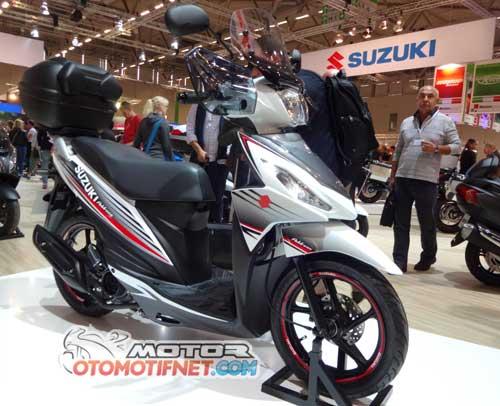 Modifikasi Motor Suzuki Address