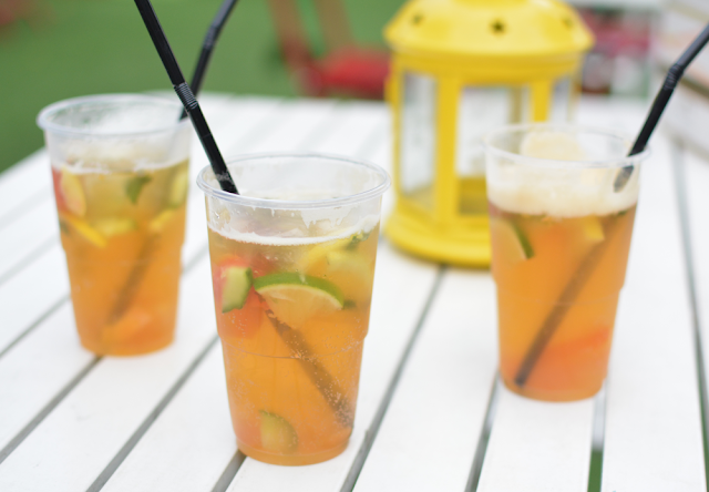 Pimms & lemonade, Cocktails, Summer
