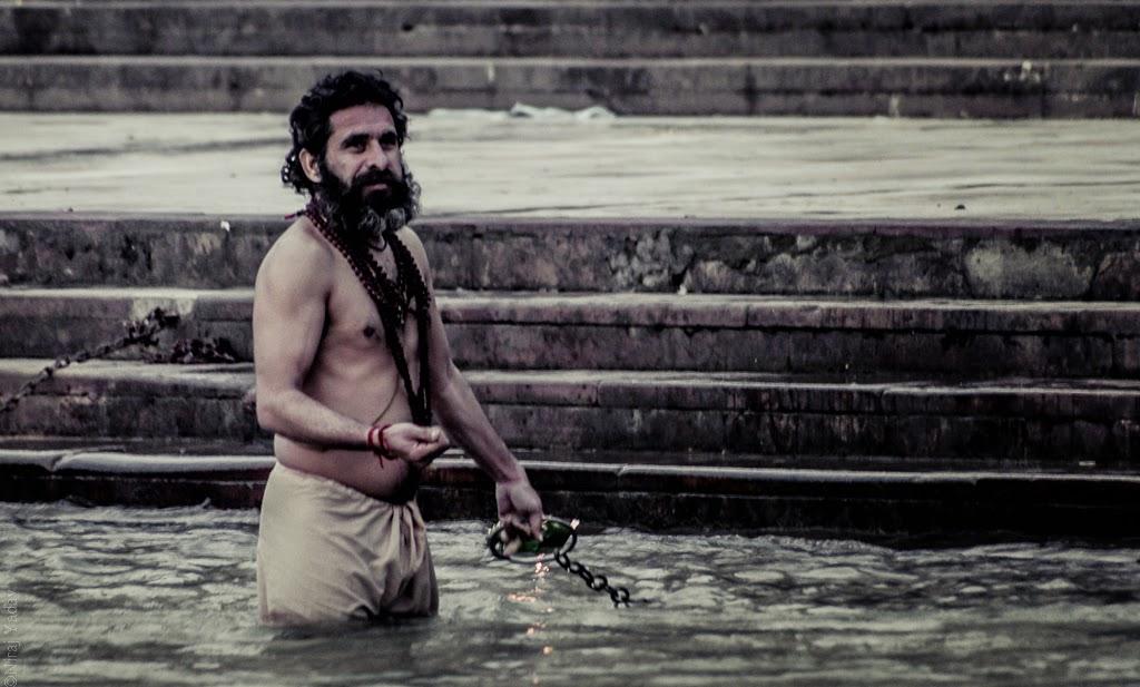 Haridwar har ki pauri snan Ganga
