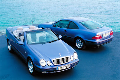 Mercedes CLK came in coupe or cabriolet flavours