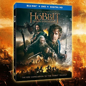 WIN The Hobbit The Battle of The Five Armies Combo Blu-Ray, DVD, Digital HD