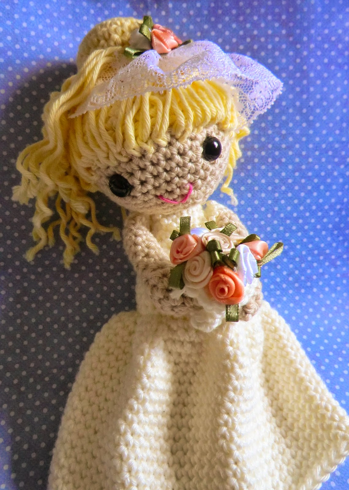 Amigurumi Curly Hair Tutorial : Amigurumi Barmy: My patterns