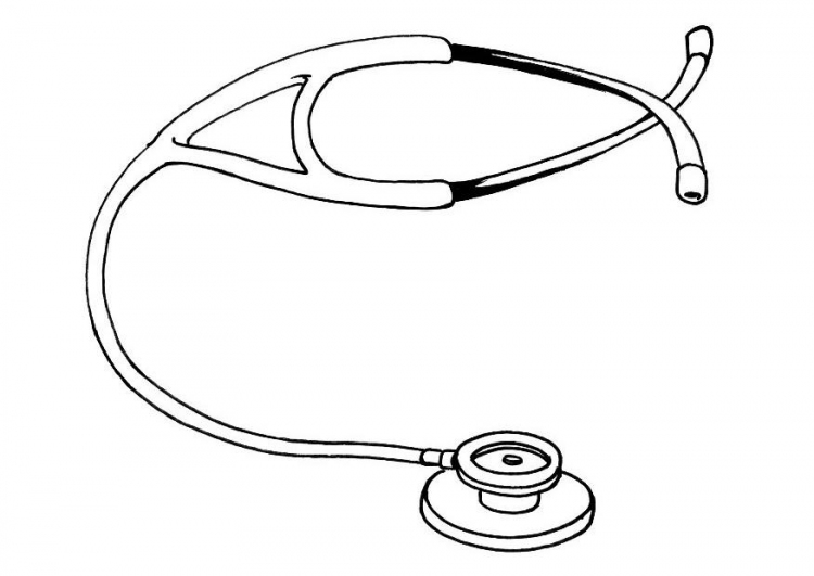 How to Draw a Stethoscope | DrawingForAll.net