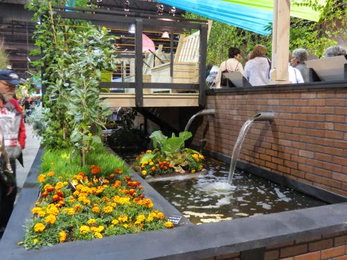 Philadelphia Flower Show 2015- fountains Rising Waters
