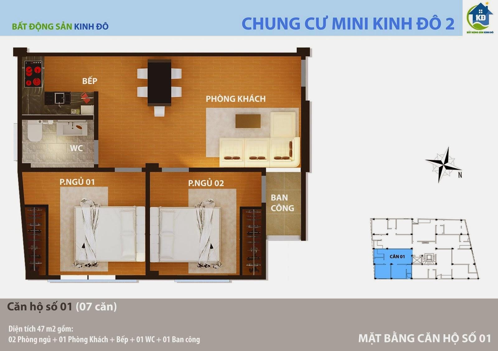 Căn 01 chung cư mini Xuân Đỉnh