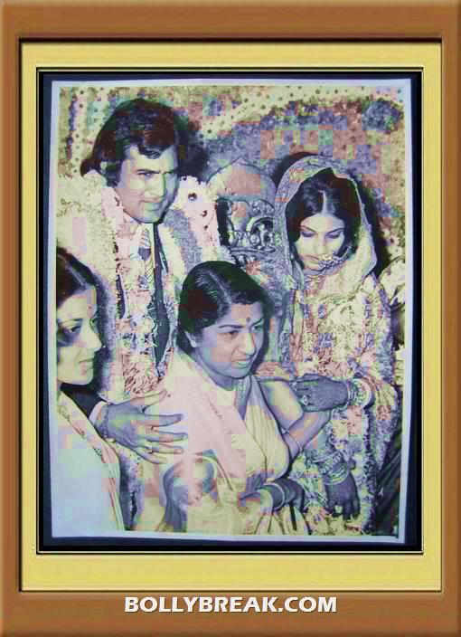 Super Star Rajesh Khanna Dimple Kapadia wedding on 23 3 1973 biography of super star rajesh khanna  - (5) - Remembering Rajesh Khanna - First Bollywood Superstar