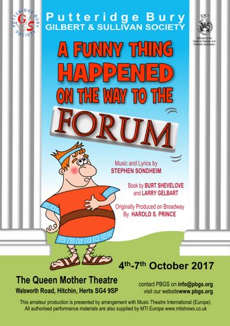 4-7 OCTOBER 2017: A FUNNY THING HAPPENED ON THE WAY TO THE FORUM