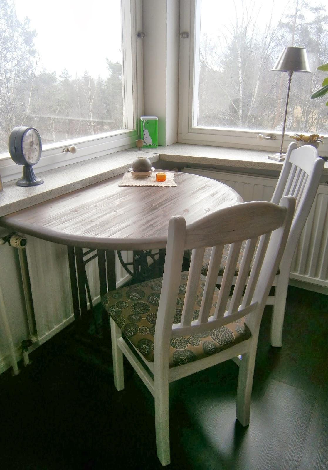 ELÄMÄÄ MAASEUDULLA Ruokapöytä pieneen tilaan