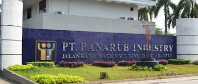 Alamat PT Panarub Dwikarya Tangerang