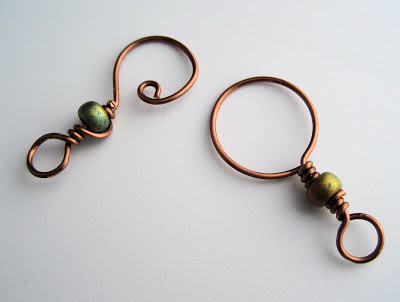 wire and bead clasp