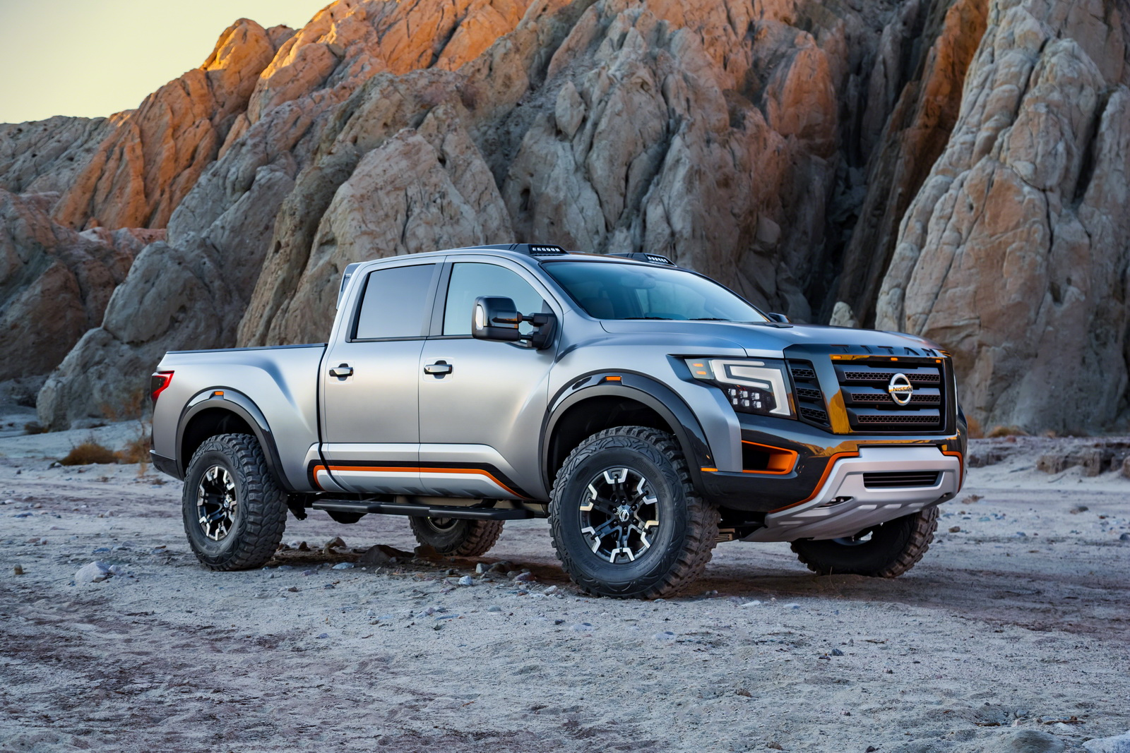 Nissan s titan warrior concept is proof we need more baja inspired trucks