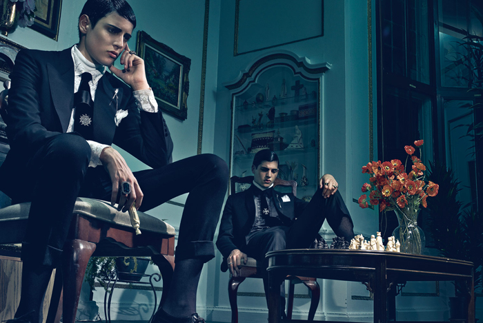 Interview September 2012 - PETER II AND HARRY BRANT by Steven Klein
