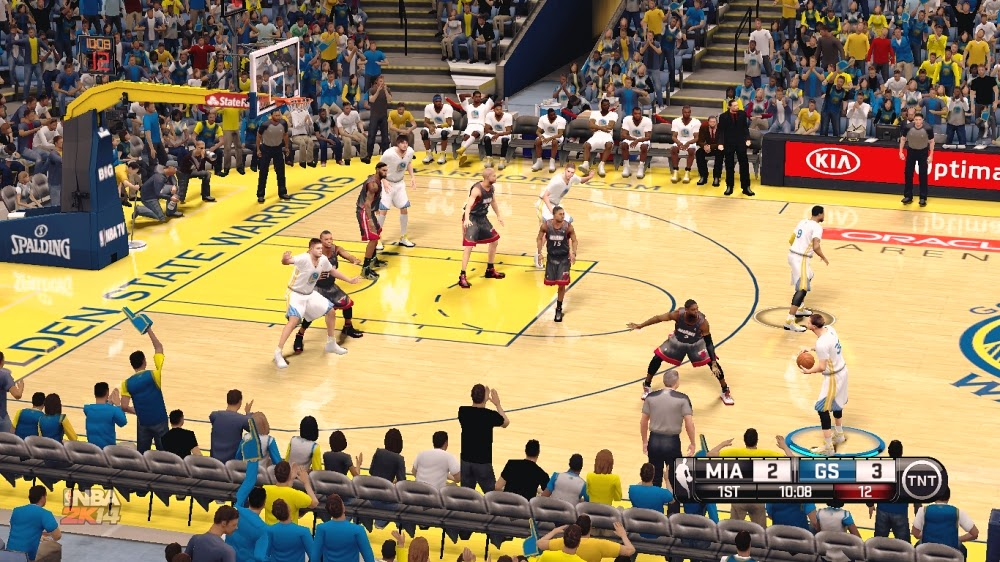 NBA 2K14 ENB with SweetFX (Next-gen Like Graphics)