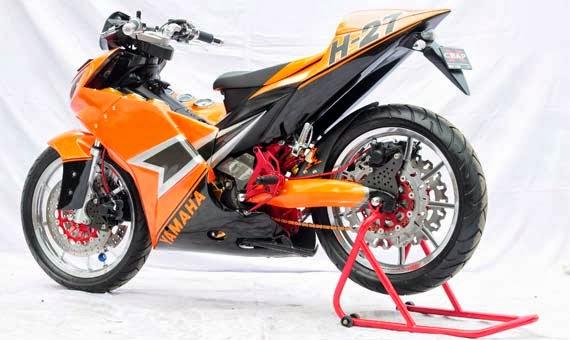 Gambar Modifikasi Yamaha Jupiter Mx