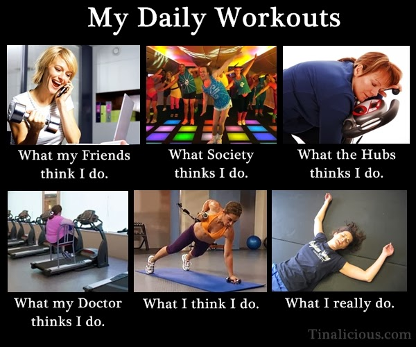 My Daily Workouts Meme