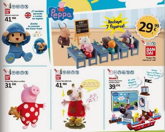 juguetes de peppa pig eroski navidad 14