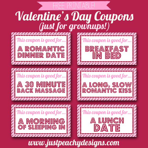 Free Valentine's Day Coupons