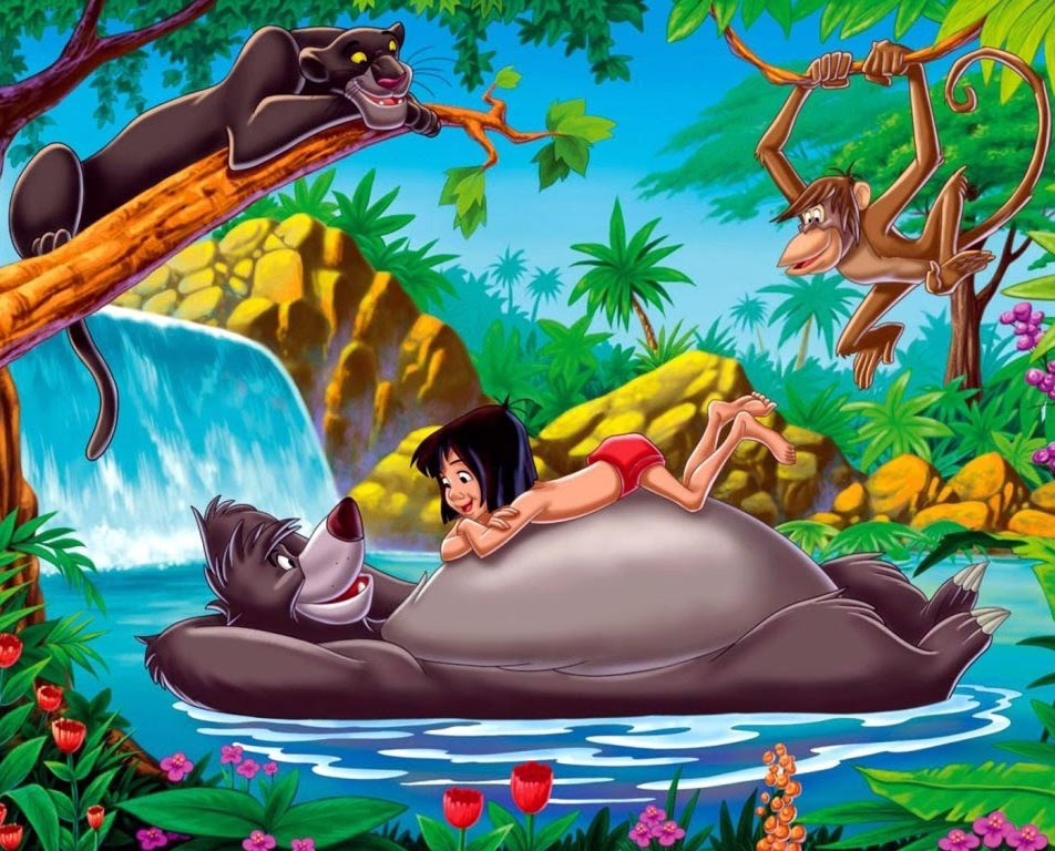 Cartoon Pictures for The Jungle Book (1967) | BCDB