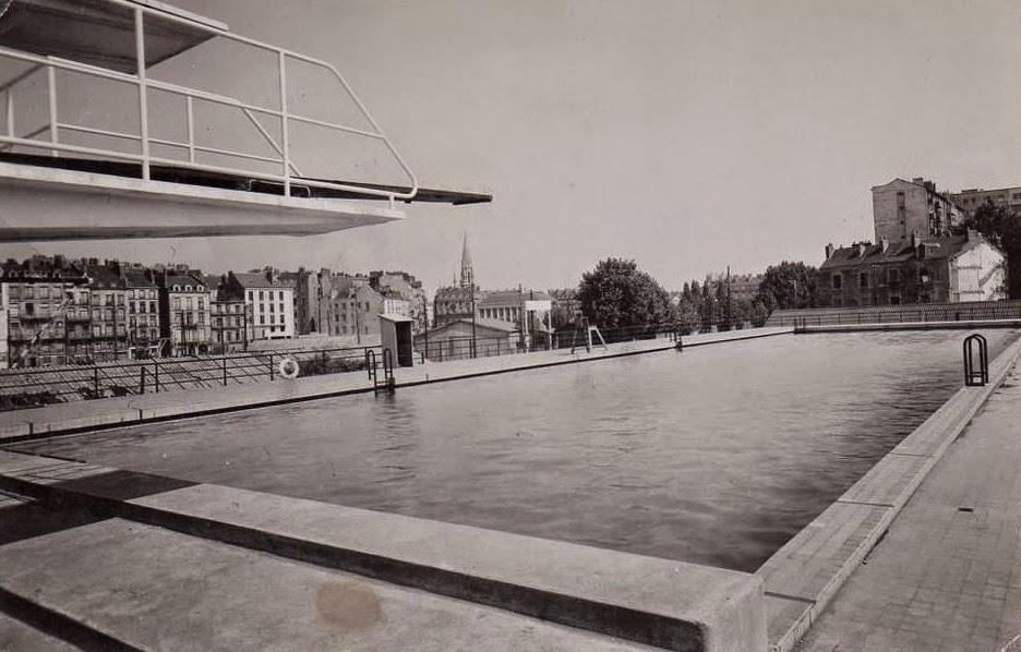Nantes la ville d 39 apr s guerre nantes la piscine municipale for Piscine ile gloriette nantes