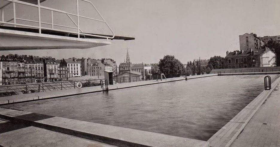 Nantes la ville d 39 apr s guerre nantes la piscine municipale for Piscine 3 villes