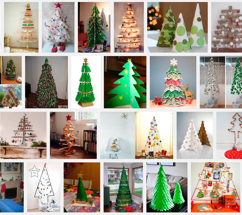 Tutoriales un lugar para terapiarte rboles de navidad - Manualidades de arboles de navidad ...