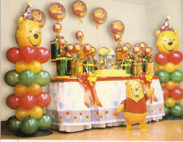 Adornos para cumpleaños Winnie Pooh - Imagui