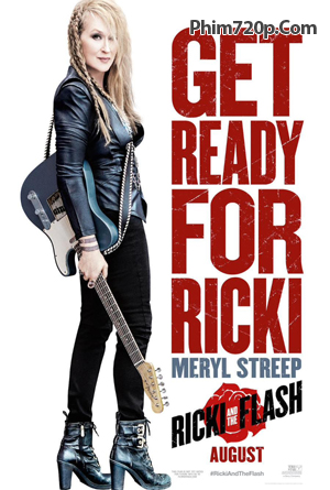 Ricki And The Flash 2015 poster