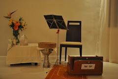 Preparado para el proximo concierto... en árabe y español