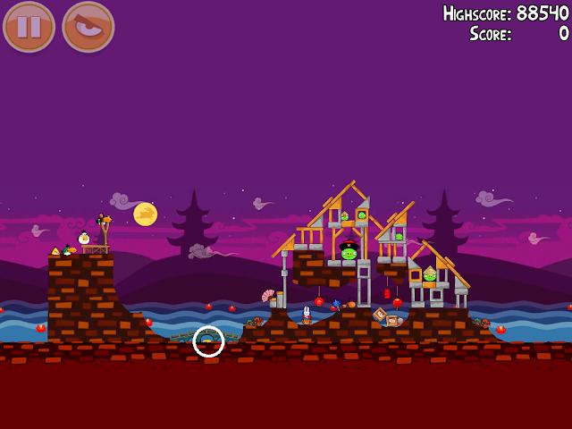 Angry Birds Seasons: Mooncake Festival 2-5