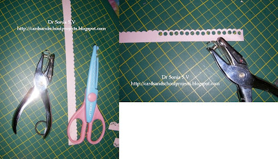 how to cut holes in paper without a hole puncher