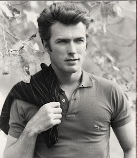 Clint Eastwood de blusa polo lacoste