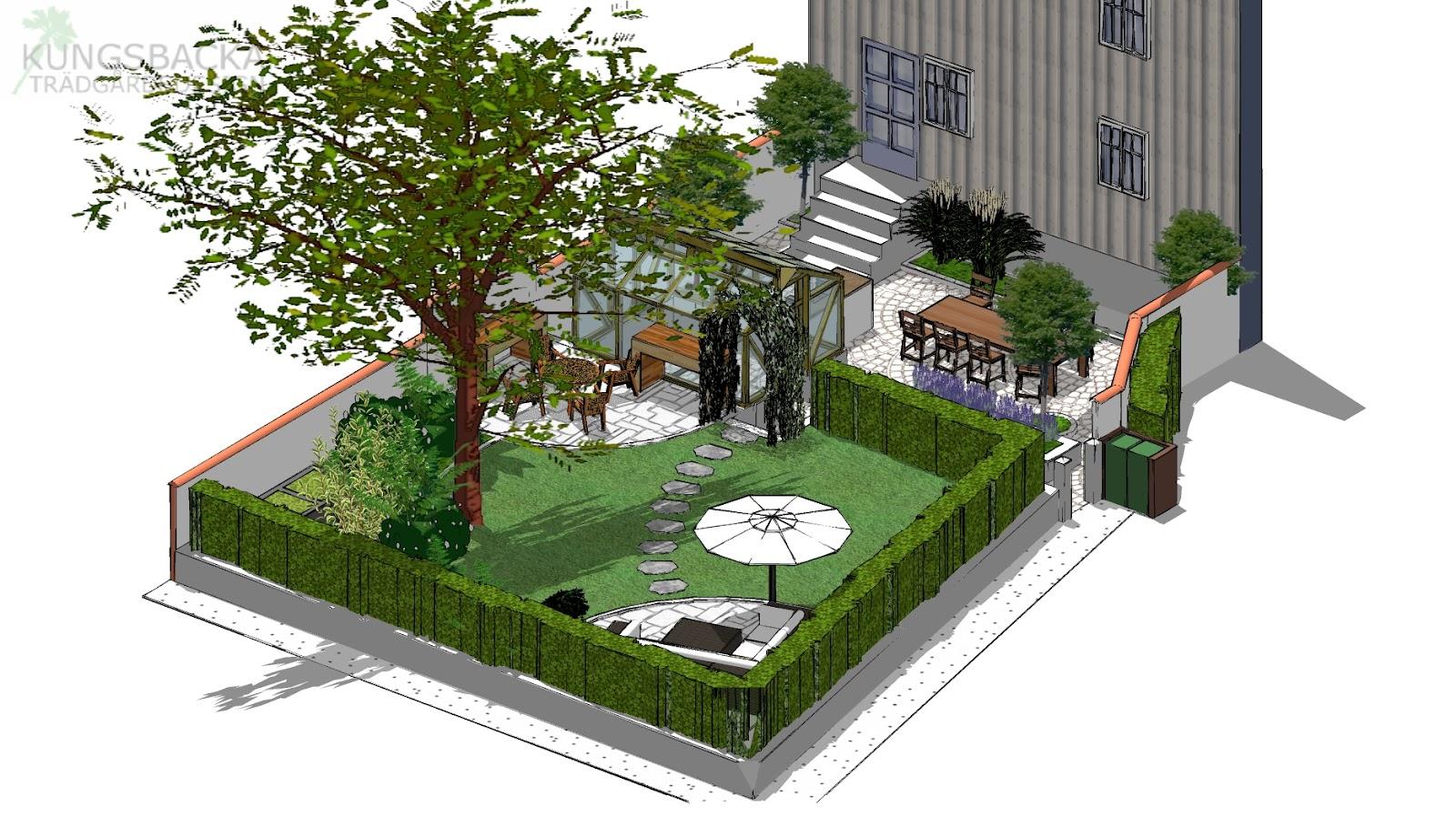 Kungsbacka trädgårdsdesign: februari 2012