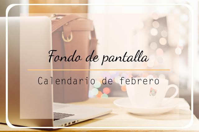 fondo de pantalla calendario febrero