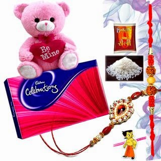 Rakhi Gift Hamper worth Rs 379 for Rs 179. | Shopclues.