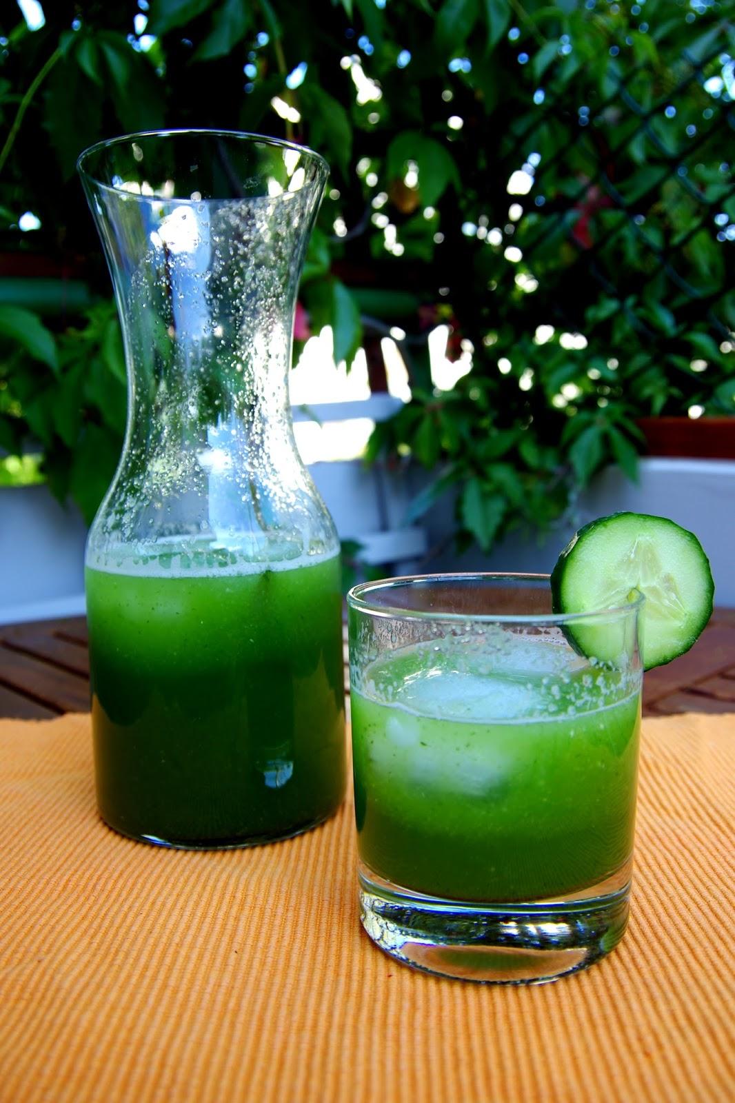 Recipe: Cucumber cooler!