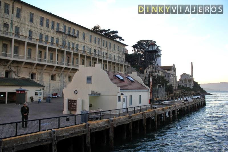 Muelle de la isla de Alcatraz