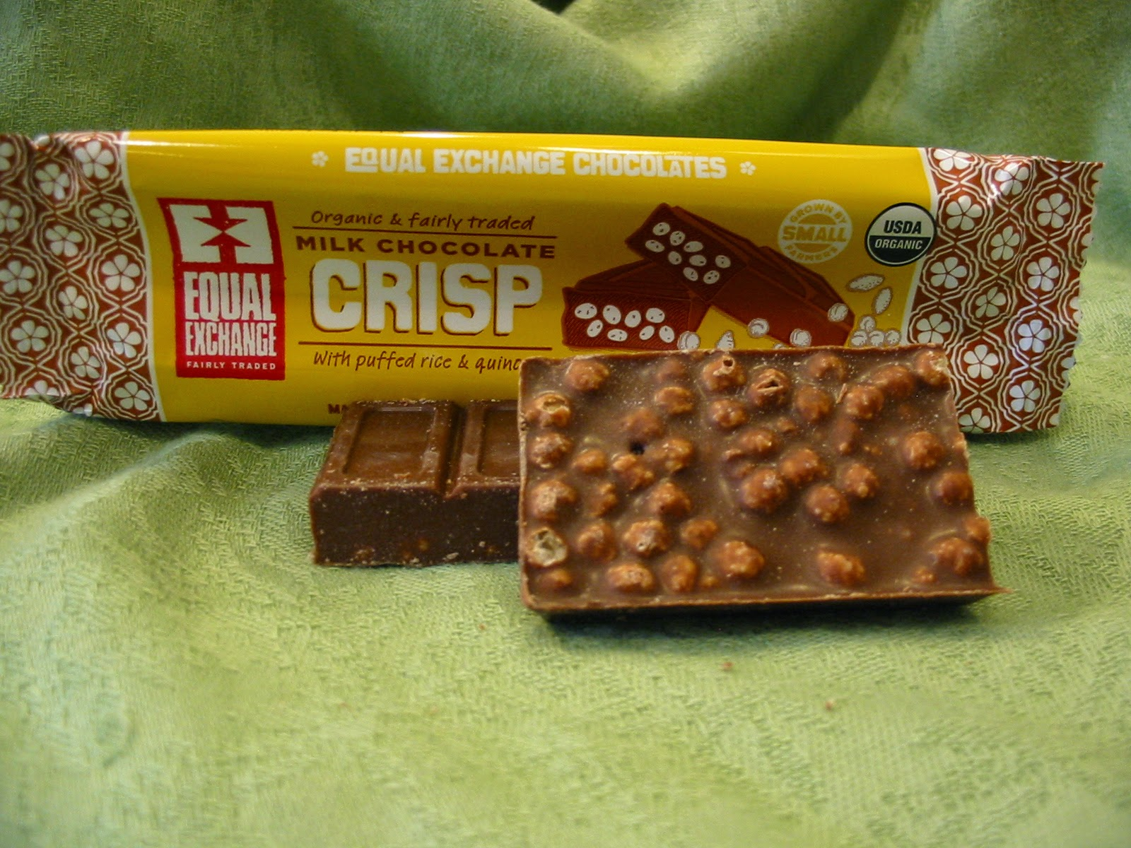 The Chocolate Cult: Equal Exchange Candy Bars for National Organic ...