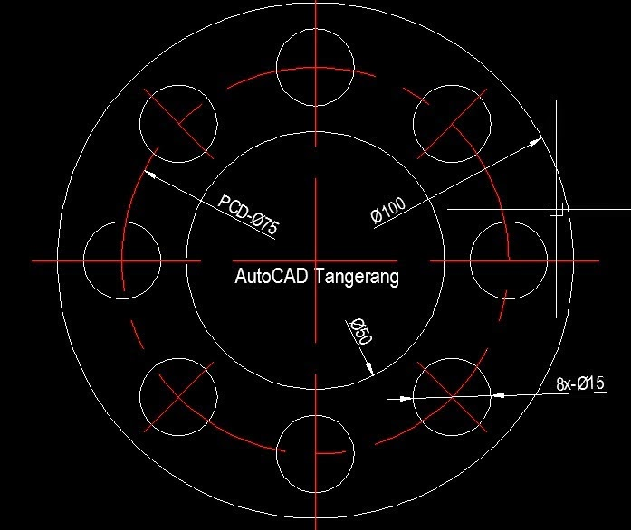 Array versi AutoCAD lama VS. AutoCAD 2012.