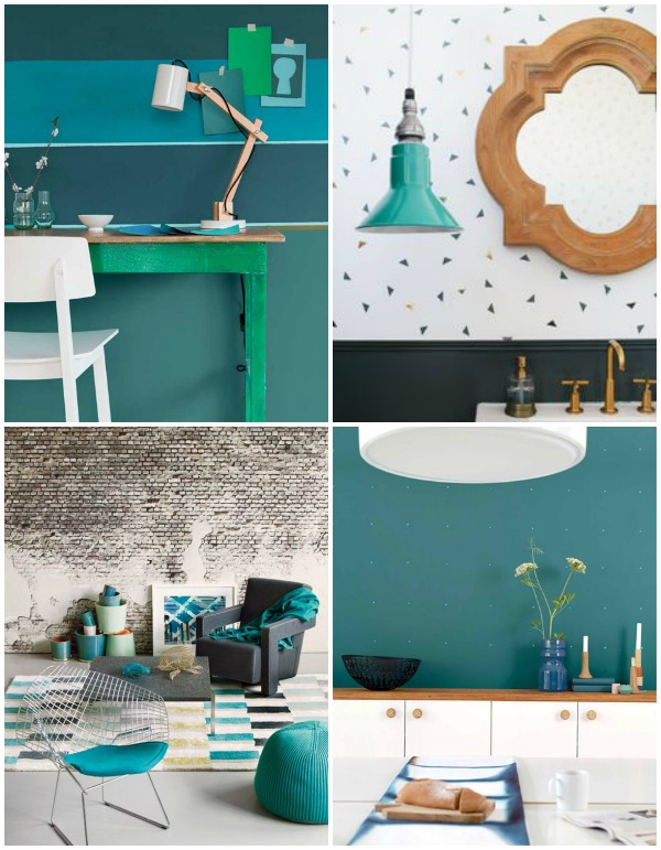 Teal Dulux color of the year