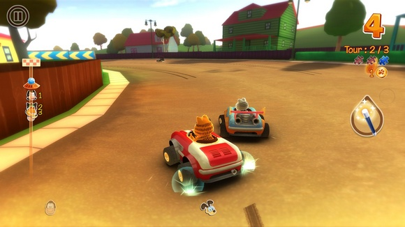 Garfield Kart PC Game Screenshot 2 Garfield Kart SKIDROW