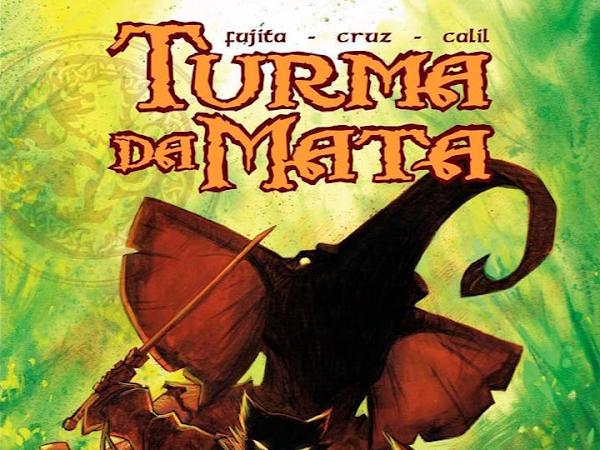 [Teaser] Turma da Mata: Muralha, graphic novel Maurício de Sousa Produções